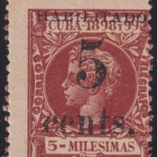 Sellos: 1899-489 CUBA 1899 5C S. 5C US OCCUPATION FIRST ISSUE PHILATELIC FORGERY PARA ESTUDIO.. Lote 257835560