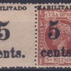 Sellos: 1899-482 CUBA 1899 5C S. 3C US OCCUPATION 2TH ISSUE FINE NUMBER PHILATELIC FORGERY.. Lote 257835620