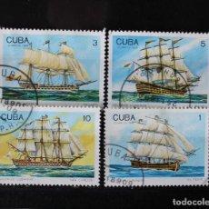 Sellos: CUBA SELLOS BELEROS YVERT 2954-2957. Lote 262466330