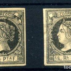 Sellos: CUBA Nº 11. AÑO 1862. Lote 262614210