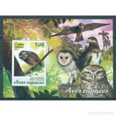 Sellos: ⚡ DISCOUNT CUBA 2017 BIRDS OF PREY MNH - BIRDS, OWLS. Lote 268834199