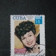 Sellos: SELLO CUBA - PERSONAJES - GBSS. Lote 277092253