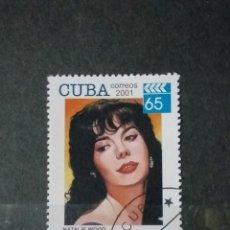 Sellos: SELLO CUBA - PERSONAJES - GBSS. Lote 277092348