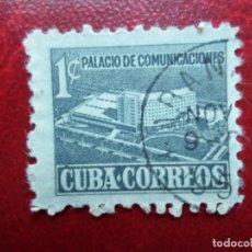 Sellos: *CUBA, 1955, PALACIO DE COMUNICACIONES, YVERT 430. Lote 278181963