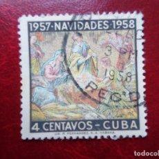 Sellos: *CUBA, 1957, NAVIDAD, YVERT 469. Lote 278182468
