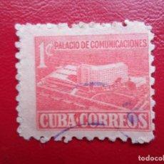 Sellos: *CUBA, 1958,PALACIO DE COMUNICACIONES, YVERT 477. Lote 278182883