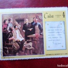 Sellos: *CUBA, 1970, CENTENARIO NACIMIENTO DE LENIN, YVERT 1402. Lote 278406493