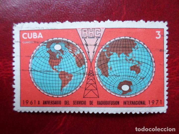 *CUBA, 1971, 10 ANIV. SERVICIOS DE RADIODIFUSION, YVERT 1497 (Sellos - Extranjero - América - Cuba)