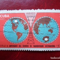 Sellos: *CUBA, 1971, 10 ANIV. SERVICIOS DE RADIODIFUSION, YVERT 1497. Lote 278409188