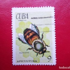Sellos: *CUBA, 1971, APICULTURA, YVERT 1509. Lote 278409678