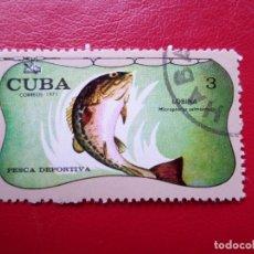 Sellos: *CUBA, 1971, PESCA DEPORTIVA, YVERT 1528. Lote 278410113