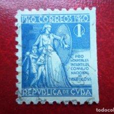 Sellos: *CUBA, 1940, SELLO DE BENEFICENCIA YVERT 3. Lote 278476008