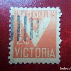Sellos: *CUBA, 1942, SELLO DE BENEFICENCIA YVERT 6. Lote 278476223