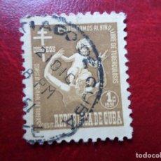 Sellos: *CUBA, 1951, SELLO DE BENEFICENCIA YVERT 14. Lote 278476428