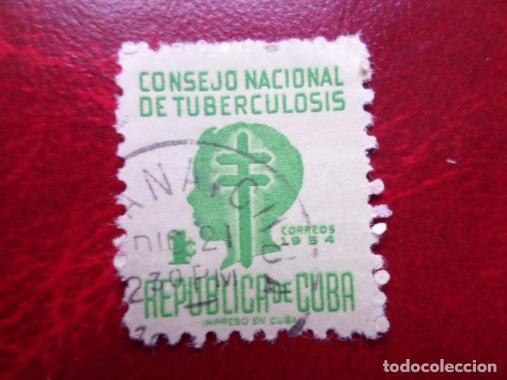 *CUBA, 1954, SELLO DE BENEFICENCIA, YVERT 21 (Sellos - Extranjero - América - Cuba)