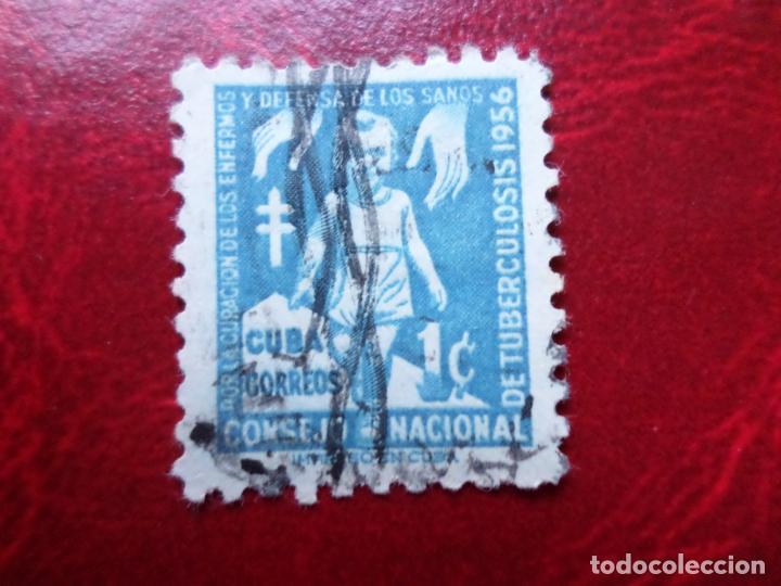 *CUBA, 1956, SELLO DE BENEFICENCIA, YVERT 30 (Sellos - Extranjero - América - Cuba)