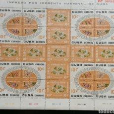 Sellos: FLORES CUBA LOTE SELLOS YVERT 535/9 SERIE COMPLETA EN HBS NUEVOS */ LIGERAS SOMBRAS CATÁLOGO 320€. Lote 279373328