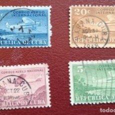 Sellos: LOTE 4 SELLOS CORREO AEREO 1931 USADO. Lote 287343713