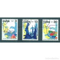 Sellos: 2319 CUBA 1978 U THE 25TH ANNIVERSARY OF THE ATTACK ON MONCADA FORTRESS. Lote 287500653