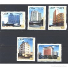 Sellos: 5072 CUBA 2008 MNH HOTEL ANNIVERSARIES. Lote 287503143