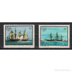 Sellos: 1694-2 CUBA 1971 MNH STAMP DAY. Lote 287507463