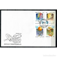 Sellos: KPD5329 FDC 2009 U GAMES FOR CHILDREN. Lote 287509118