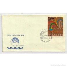 Sellos: KPD2416 CUBA 1979 AIRMAIL - CARIFESTA 79 FESTIVAL, HAVANA. Lote 287512678