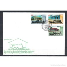 Sellos: KPD4660 CUBA 2004 THE 100TH ANNIVERSARY OF THE RAILWAY STATIONS. Lote 287516983