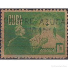 Sellos: 188-3 CUBA 1943 U RETIREMENT FUND FOR POSTAL EMPLOYEES. Lote 287524143