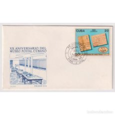 Sellos: KPD2912 CUBA 1985 THE 20TH ANNIVERSARY OF THE CUBAN POSTAL MUSEUM. Lote 287527343