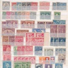 Sellos: INTERESANTE LOTE DE MAS 250 SELLOS DE CUBA DESDE CLASICOS HASTA LOS AÑOS 40, NUEVOS. Lote 288363988