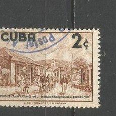 Sellos: CUBA YVERT NUM. 470 USADO. Lote 288704698
