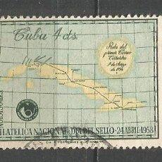 Sellos: CUBA YVERT NUM. 478 USADO. Lote 288705008