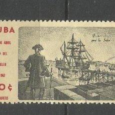 Sellos: CUBA YVERT NUM. 591 USADO. Lote 288706508