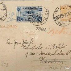 Sellos: O) 1918 CUBA, CARIBE, JOSÉ DE LA LUZ CABALLERO, PLANTACIÓN DE TABACO, CONFERENCIA PANAMERICANA, SEAP. Lote 289652773