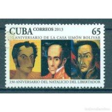 Sellos: ⚡ DISCOUNT CUBA 2013 SIMON BOLIVAR MNH - SIMON BOLIVAR. Lote 289949633