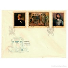 Sellos: CUBA 1971 FDC THE 100TH ANNIVERSARY OF THE EXECUTION OF MEDICAL STUDENTS - THE MEDICINE, REVOLUTION. Lote 289949638