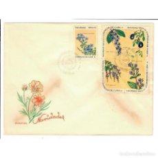 Sellos: CUBA 1969 FDC CHRISTMAS - FLOWERS - FLOWERS, CHRISTMAS. Lote 289949703