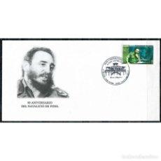 Sellos: CUBA FDC CHE AND FIDEL - FDC - ERNESTO CHEGEVARA, FIDEL CASTRO, COLLECTIONS. Lote 289949713