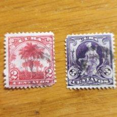 Sellos: PRIMERA SERIE DE SELLOS EN CUBA, 1899. Lote 292169828