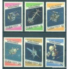 Sellos: 3088 CUBA 1987 MNH COSMONAUTICS DAY - THE 20TH ANNIVERSARY OF THE INTERCOSMOS PROGRAMME. Lote 293377498
