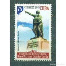 Sellos: 5989 CUBA 2015 MNH DONA MARIANA GRAJALES COELLO, 1808-1893. Lote 293379873