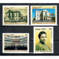 Sellos: 5449 CUBA 2010 MNH THE 125TH ANNIVERSARY OF LA CARIDAD THEATRE - SANTA CLARA. Lote 293381428