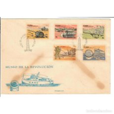 Sellos: KPD1049 CUBA 1965 MUSEUM OF THE REVOLUTION. Lote 293387348