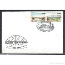 Sellos: KPD4689-1 CUBA 2006 BRIDGES. Lote 293389848