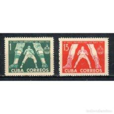 Sellos: 842-3 CUBA 1963 NG THE 4TH PAN-AMERICAN GAMES, SAO PAULO. Lote 293390833