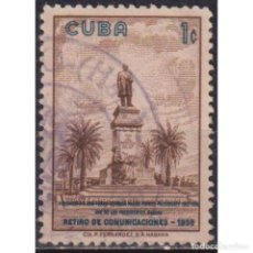 Sellos: 654-3 CUBA 1960 U MONUMENT OF THE FIRST PRESIDENT TOMAS ESTRADA PALMA. Lote 293400503