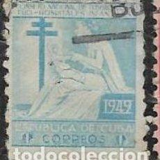 Sellos: CUBA BENEFICENCIA YVERT 9. Lote 293880698