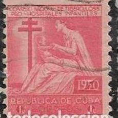 Sellos: CUBA BENEFICENCIA YVERT 10. Lote 293880798
