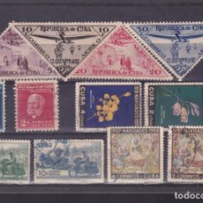Sellos: FC3-14- CUBA ,LOTE SELLOS /SERIES ANTIGUOS. Lote 294050168
